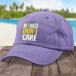 Childhood Cancer No Hair Don't Care Hat