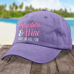 Sunshine And Wine Hat