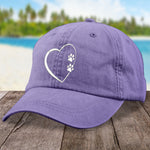 Dog Paw Heart Hat