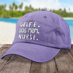 Wife Dog Mom Nurse Hat