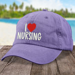 I Love Nursing Hat