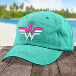 Donation - Breast Cancer Wonder Woman Hat