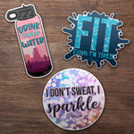 Fitness Sticker Pack