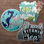Mermaid Sticker Pack