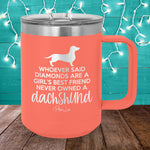 Never Owned A Dachshund 15oz Coffee Mug Tumbler