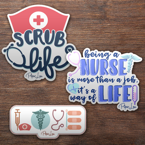 Nurses Sticker Pack