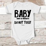 Baby Apparel | Baby Do Not Toss Baby Onesie