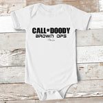 Baby Apparel - Call Of Doody Baby Onesie