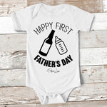 Baby Apparel | Happy First Fathers Day Baby Onesie