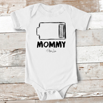 Baby Apparel - Mommy Battery Baby Onesie