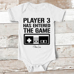 Baby Apparel | Player 3 Has Entered The Game Baby Onesie