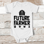 Baby Apparel - Future Farmer Baby Onesie