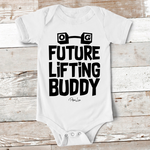 Baby Apparel | Future Lifting Buddy Baby Onesie
