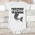 Baby Apparel | Mermaid In Training Baby Onesie