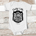 Baby Apparel | Daddy's Little Beard Puller Baby Onesie