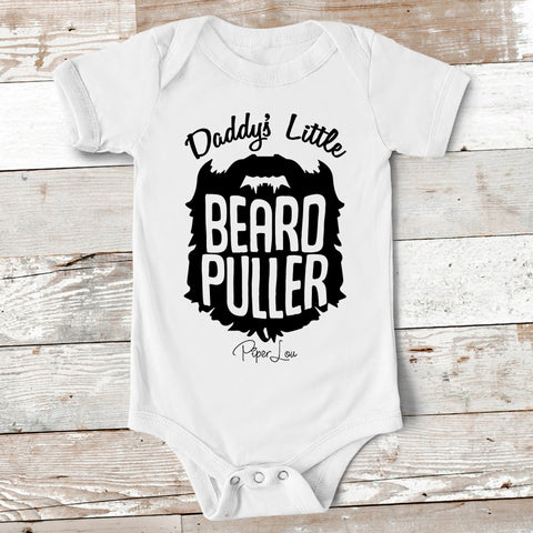 Baby Apparel - Daddy's Little Beard Puller Baby Onesie