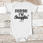 Baby Apparel - Everyday I'm Snugglin' Baby Onesie
