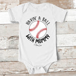 Baby Apparel - Havin' A Ball With Mommy Baby Onesie