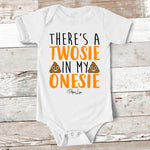 Baby Apparel | There's A Twosie In My Onesie Baby Onesie