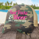 Food Trucks And Beer Hat