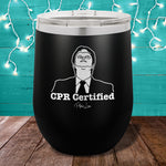 CPR Certified 12oz Stemless Wine Cup