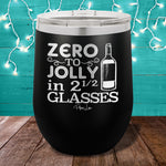 Zero to Jolly 12oz Stemless Wine Cup