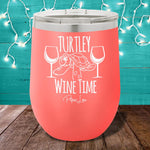 Turtley Wine Time 12oz Stemless Wine Cup