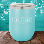 Turtleholic 12oz Stemless Wine Cup