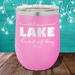 It's a Lake Kind of Day Stemless Wine Cup