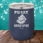 Merry Grinchmas  12oz Stemless Wine Cup