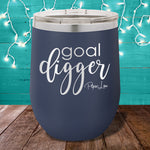 Goal Digger 12oz Stemless Wine Cup