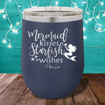 Mermaid Kisses Starfish Wishes 12oz Stemless Wine Cup