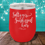 Salty Air Sunkissed Hair 12oz Stemless Wine Cup