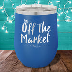 Off the market 12oz Stemless Wine Cup