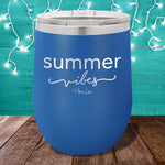 Summer Vibes 12oz Stemless Wine Cup