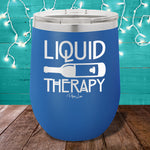 Liquid therapy 12oz Stemless Wine Cup