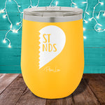 Best Friends RIGHT 12oz Stemless Wine Cup