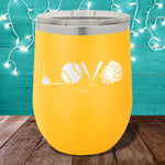 Baseball Love 12oz Stemless Wine Cup