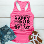 It's Always Happy Hour On The Lake