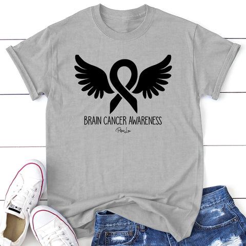 100% Donation - Brain Cancer Awareness Wings