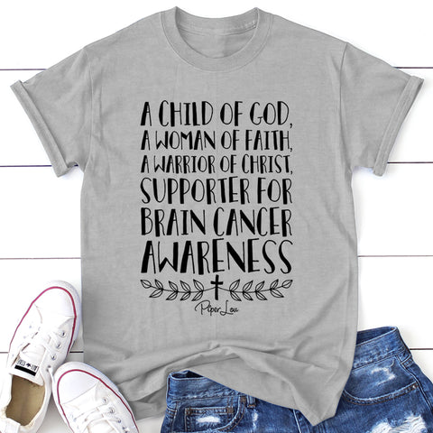 A Child Of God Supporter Of Brain Cancer