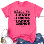 I Camp And I Know Things