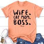 Wife Cat Mom Boss