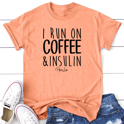Donation - I Run On Coffee  Insulin