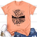 Life Is Better At The Lake - Sketch