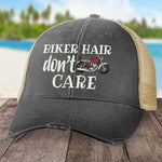 Biker Hair, Don't Care Hat (Motorcycle)