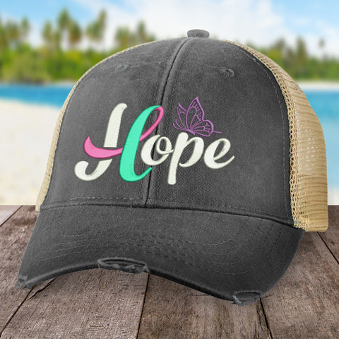 100% Donation - Thyroid Cancer Hope Ribbon Hat
