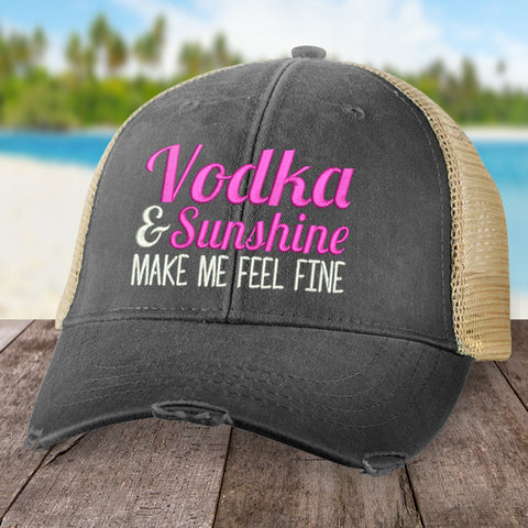 Vodka And Sunshine Hat