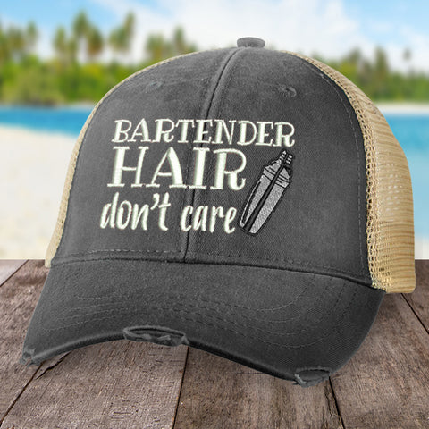 Bartender Hair Don't Care Hat
