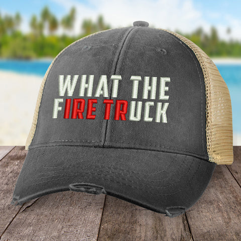 What The Firetruck Hat